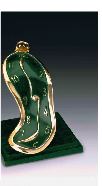 Dance of time -111 Green patina
